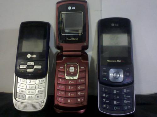 lote de:03 celulares c/defeitos...r$79,99