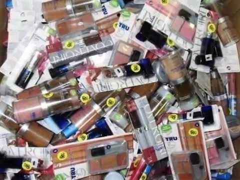 lote de100 cosmeticos surtidos. loreal,cover g la colors elf