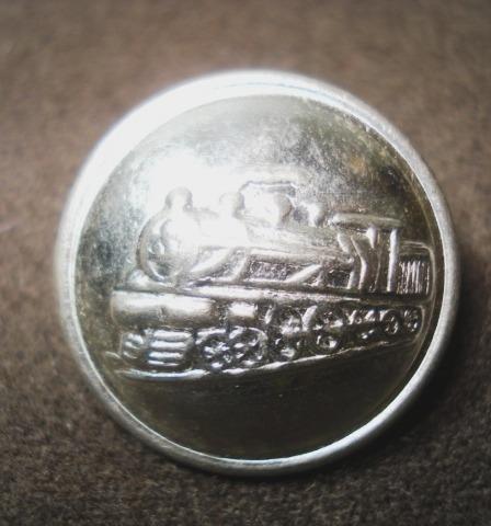 lote diez botones ferrocarril locomotora a vapor(368/10)p