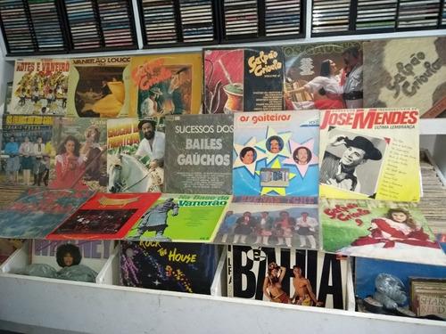 lote discos com 1100 unidades gratis+ 02 toca-discos+ mix di