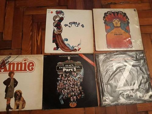 lote discos de vinilo comedias musicales y peliculas