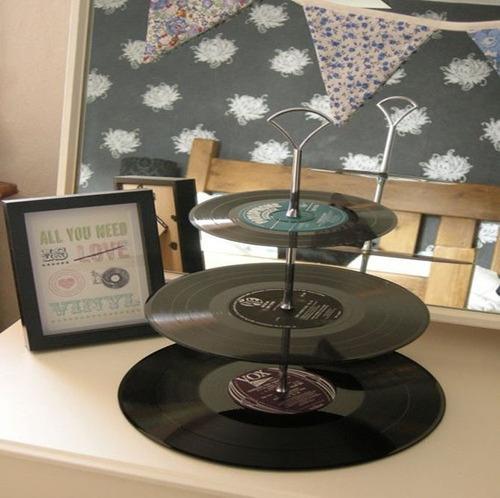 lote discos de vinilo17cm ultimos decoracion originales