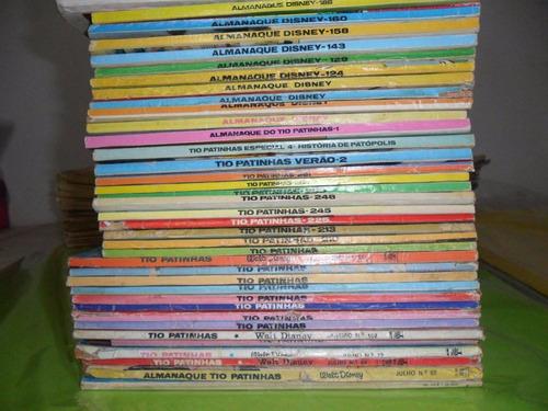 lote disney - promoção - 39 revistas - raridade - ed. abril