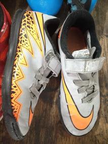 a05f42a303a51 Chuteira Futebol Adidas Caneleira Nike Infantil Brinde - Chuteiras ...