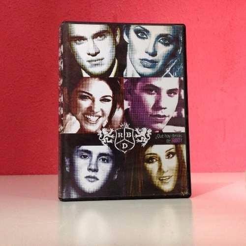 lote dvd rbd hecho en españa (duplo) + que hay detras