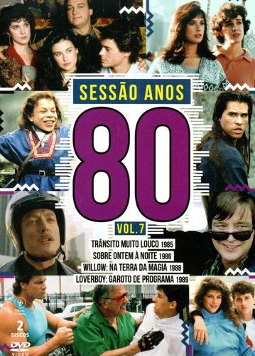 lote dvd sessao anos 80 volumes 1 a 7 - opc - bonellihq j19