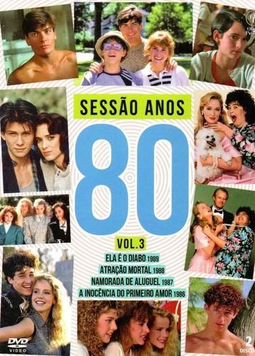 lote dvd sessao anos 80 volumes 1 a 8 - opc - bonellihq r20