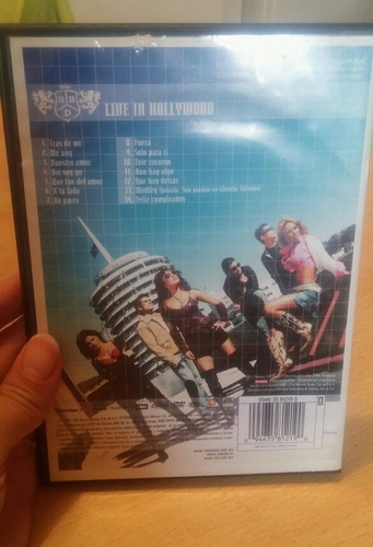 lote dvd y cd rbd rebelde anahi dulce maria christian chavez