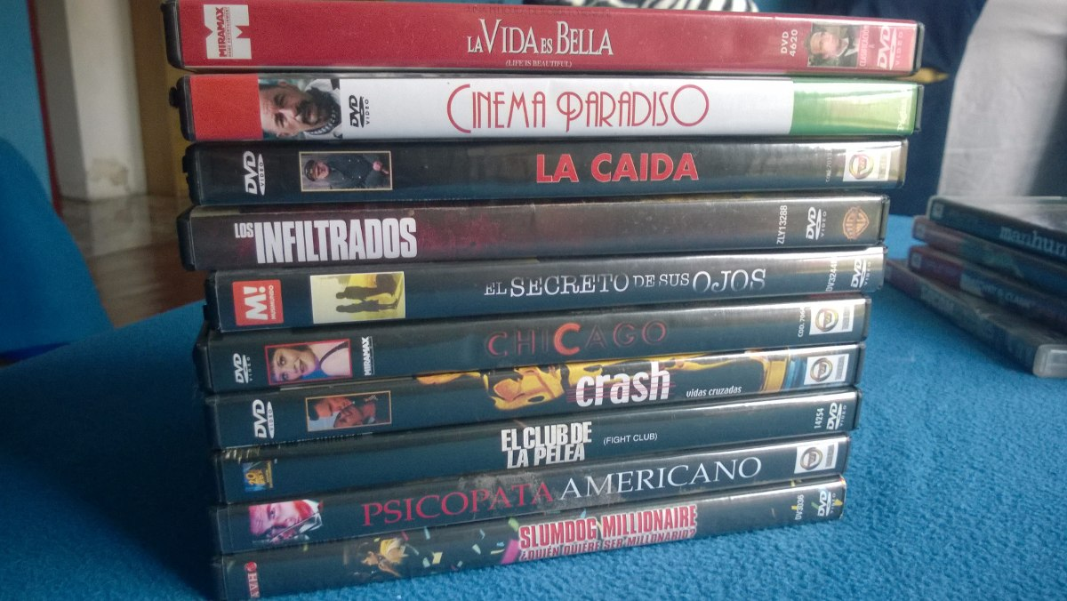 531f23305c10 Lote Dvds Originales Joyas Varias - $ 400,00