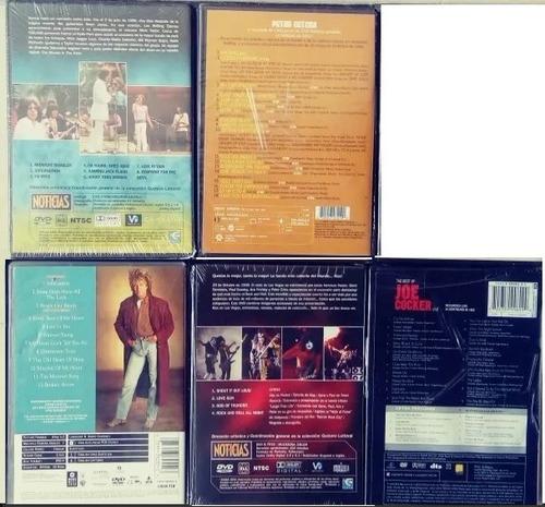 lote dvds recitales kiss-us-queen-rolling