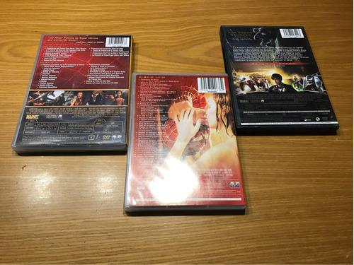 lote el hombre araña dvd 5 dvd comic marvel