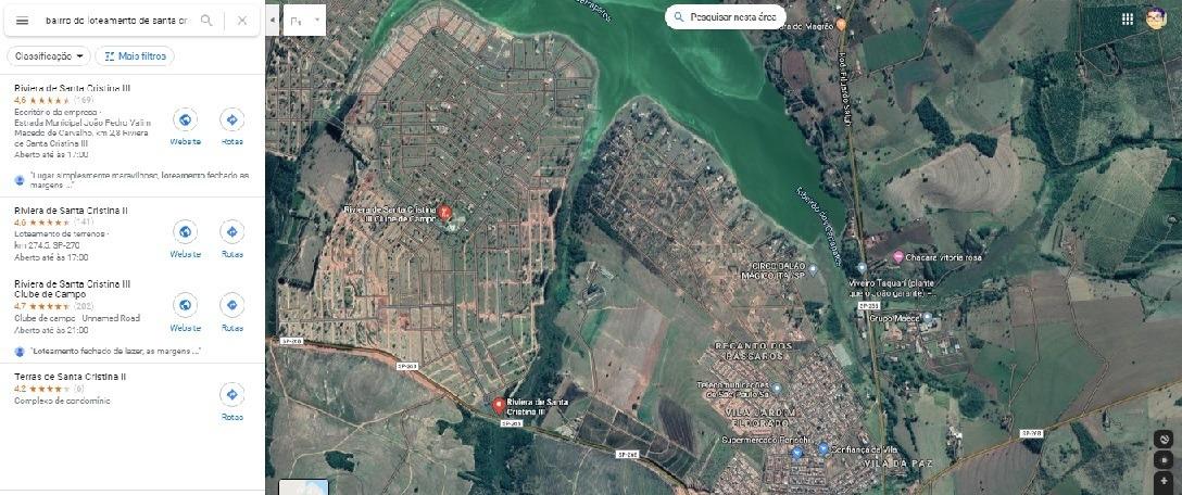 lote em condominio com infraestrutura completa - itai-sp