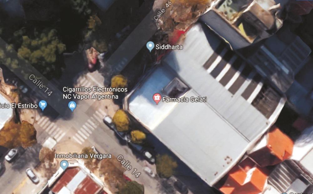 lote en 46 y 14, salida a las dos calles, 750 m2