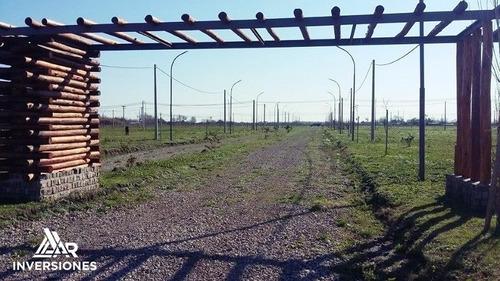 lote en alvear - barrio abierto los troncales - terreno financiado