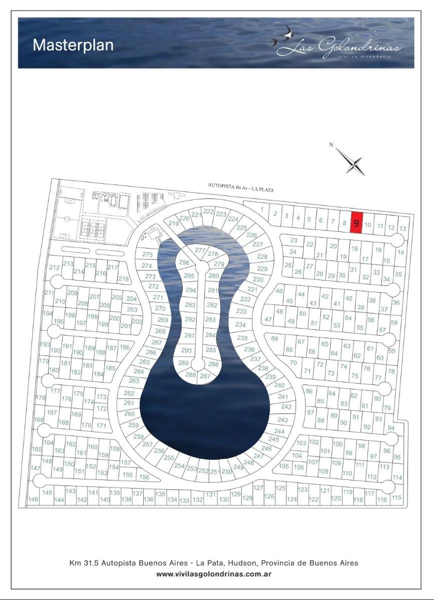 lote en barrio privado las golondrinas perimetral 790 m²