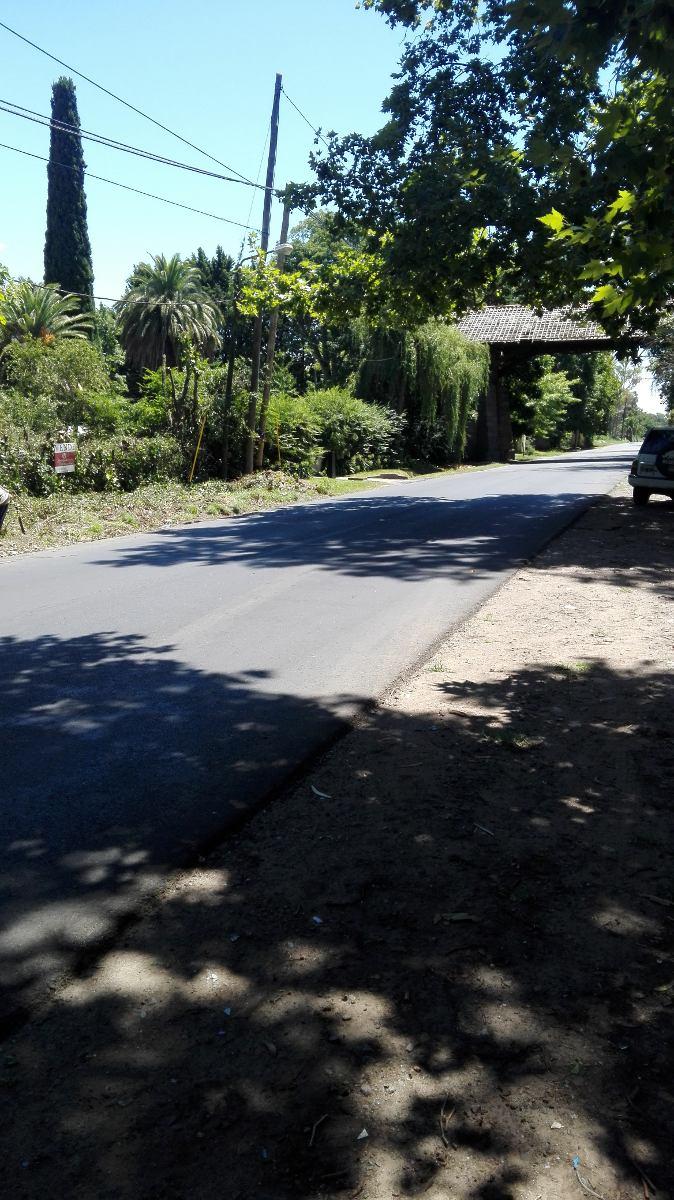 lote en barrio san juan sobre camino gral belgrano, oport!