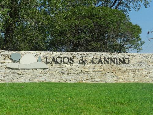 lote en canning en lagos de canning a la laguna