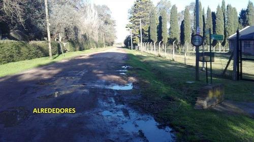 lote en cañuelas - barrio parque peluffo