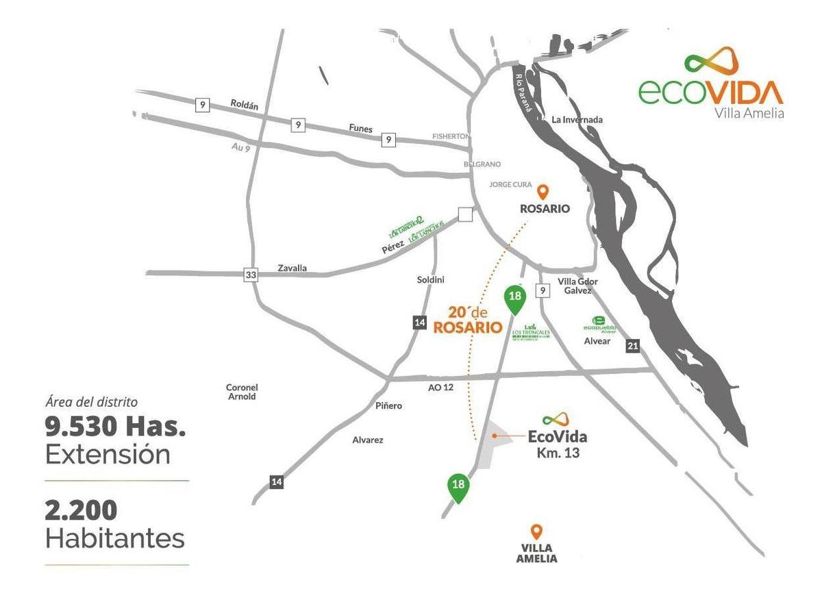 lote en eco vida - pre venta  - oportunidad de inversión - financiación en pesos