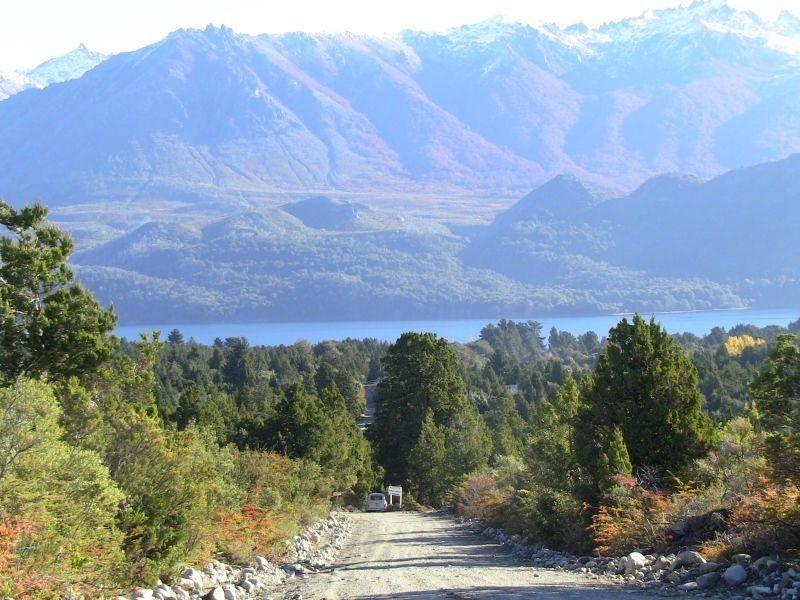 lote en esquina lago gutierrez, vista al lago