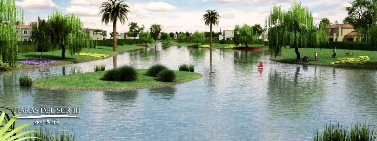 lote en haras del sur iii frente al lago financiado pro992
