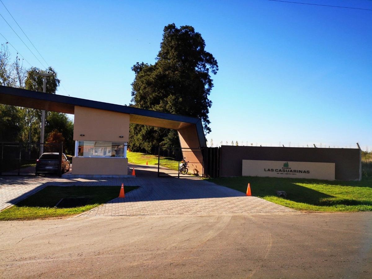 lote en ibarlucea - las casuarinas - 460 m2 - excelente barrio privado lindero a logaritmo