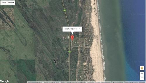 lote en km 314 casas de mar (san clemente y las toninas)