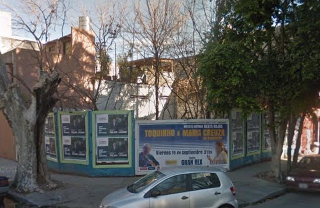 lote en ochava proximo avenidas villa crespo