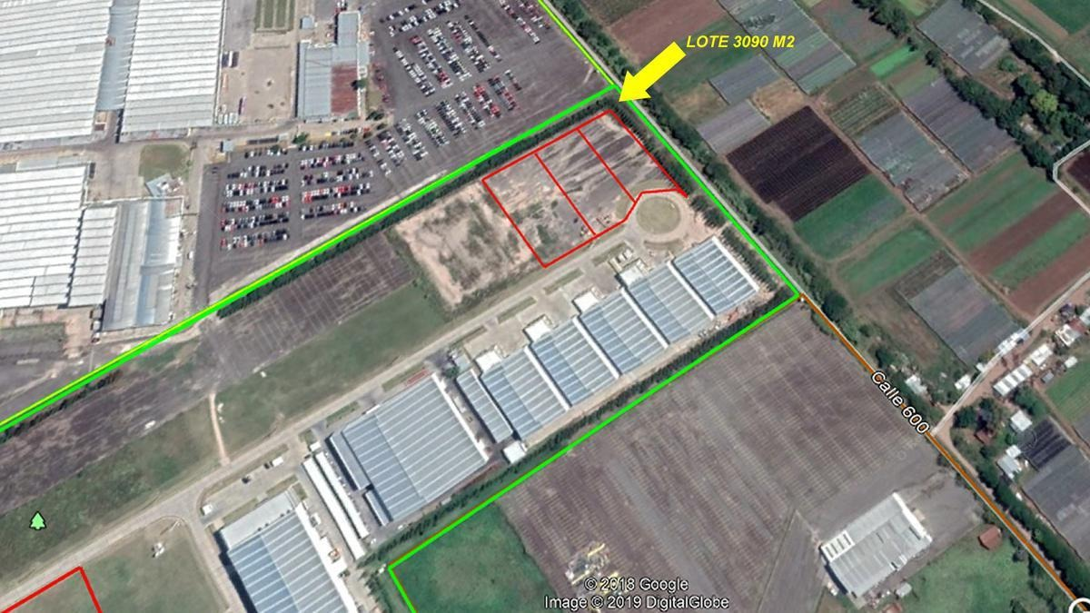 lote en parque industrial en venta berazategui zona sur 3400 m2 -  pibera