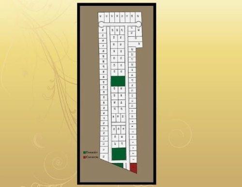 lote en pedregales del mayab en privada 344.25m2