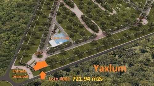 lote en privada residencial yaxlum