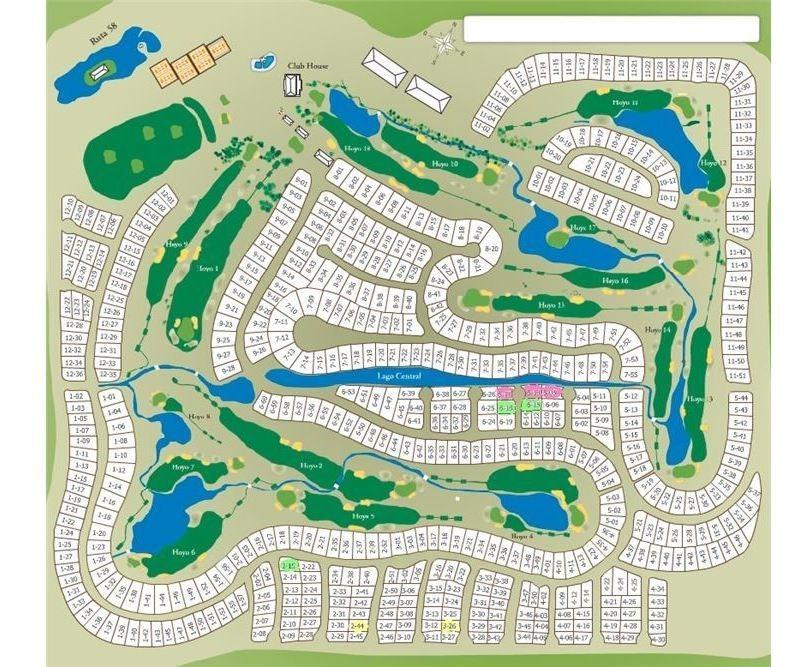 lote en san eliseo golf - lote 6-18  de 936 m