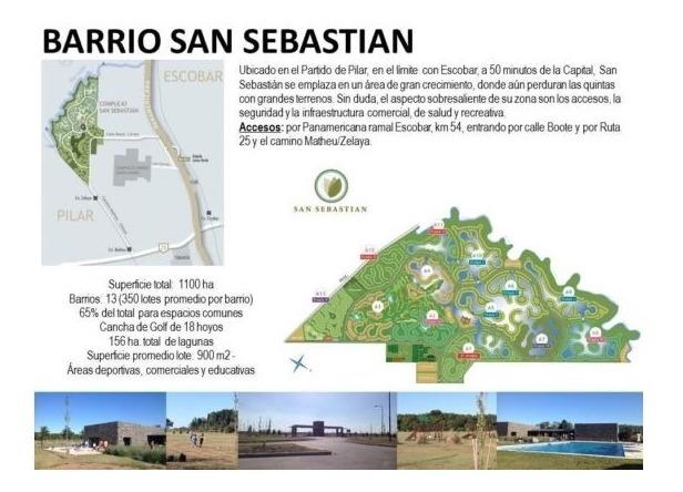 lote en san sebastian financiado + cuotas! oportunidad!