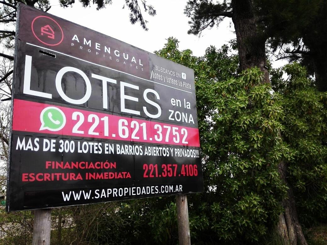 lote en venta 12.5x27 - zona don carlos 501 y 138 - ultimo