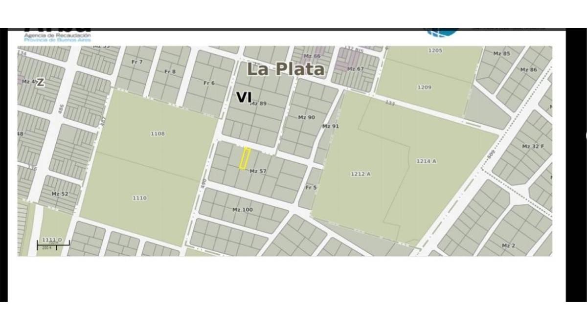 lote en venta, 550 mts, calle 134 e/ 490 y 491, u$d88.000 má