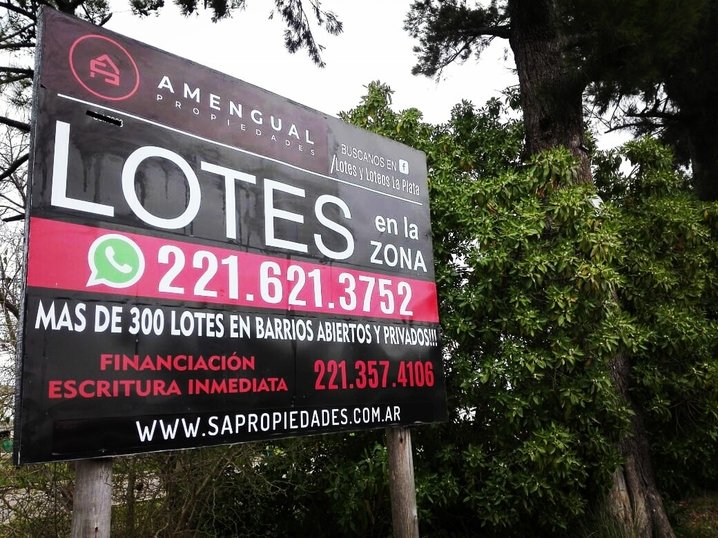 lote en venta - 609 y 5 bis barrio privado - villa elvira