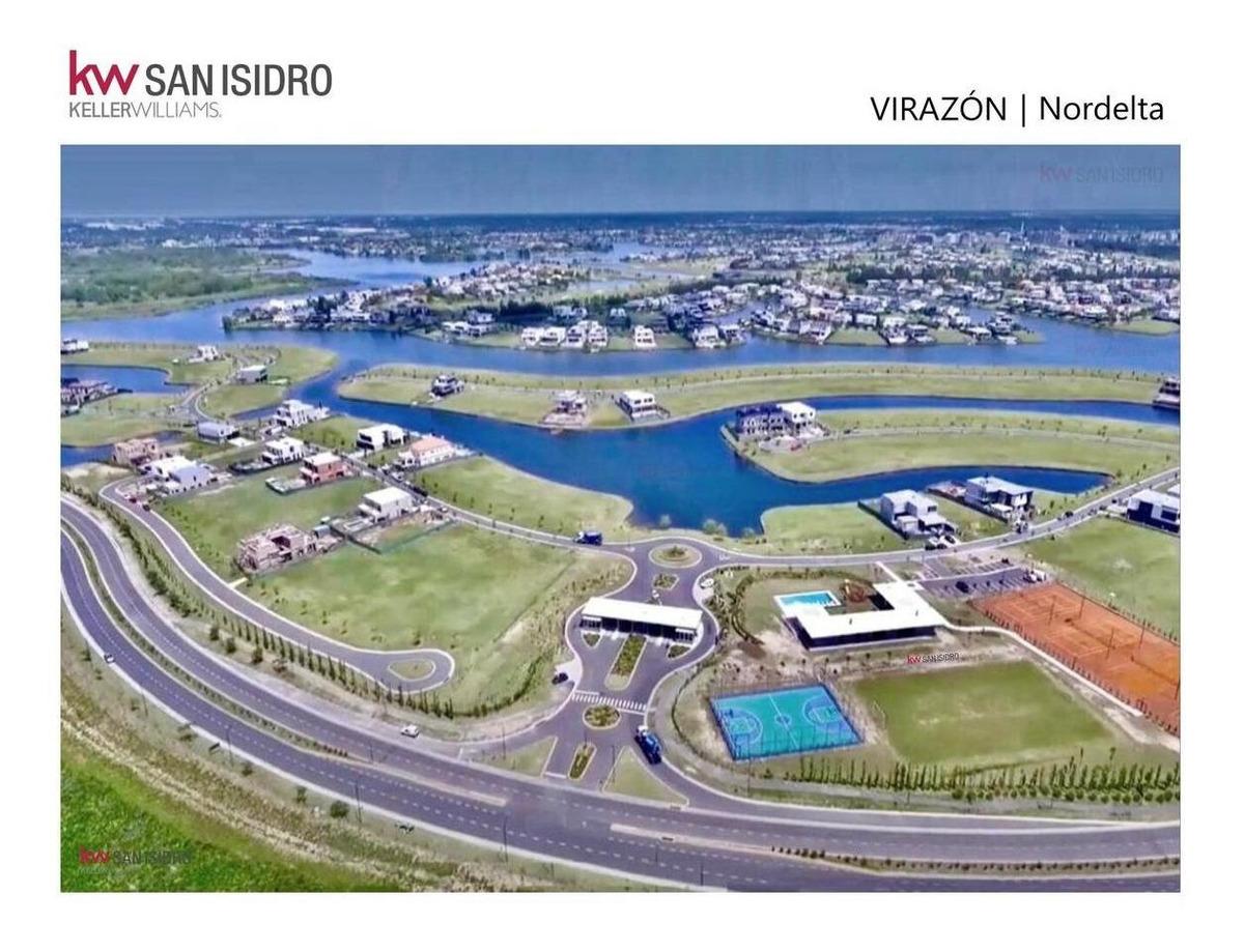 lote   en venta   al lago   virazón   barrio virazón   lago central   nordelta   tigre   nuevo delta   zona norte   buen acceso
