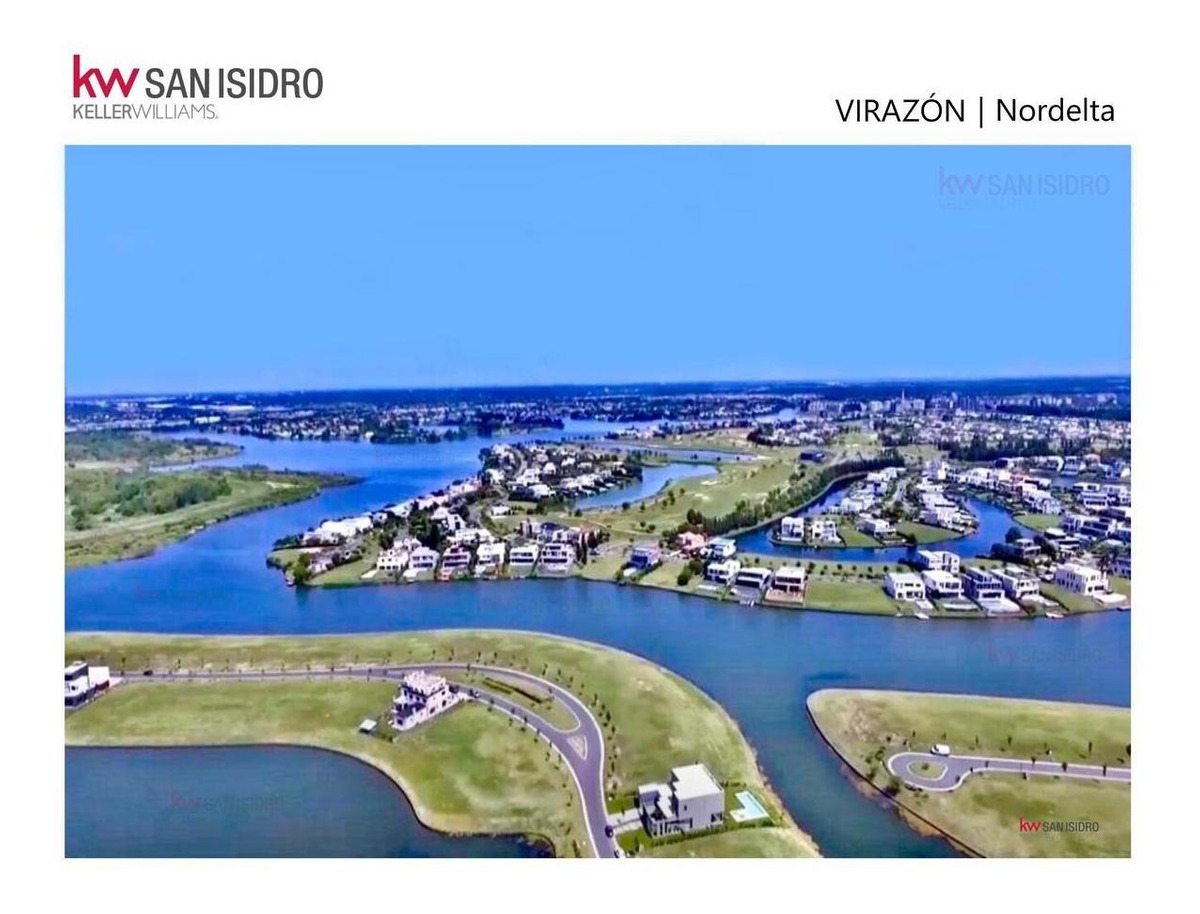 lote | en venta | al lago | virazón | barrio virazón | lago central | nordelta | tigre | nuevo delta | zona norte | buen acceso