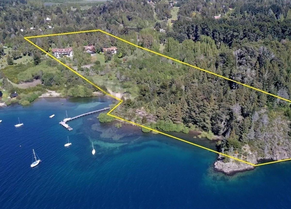 lote en venta bariloche - costa de lago - ideal desarrollo