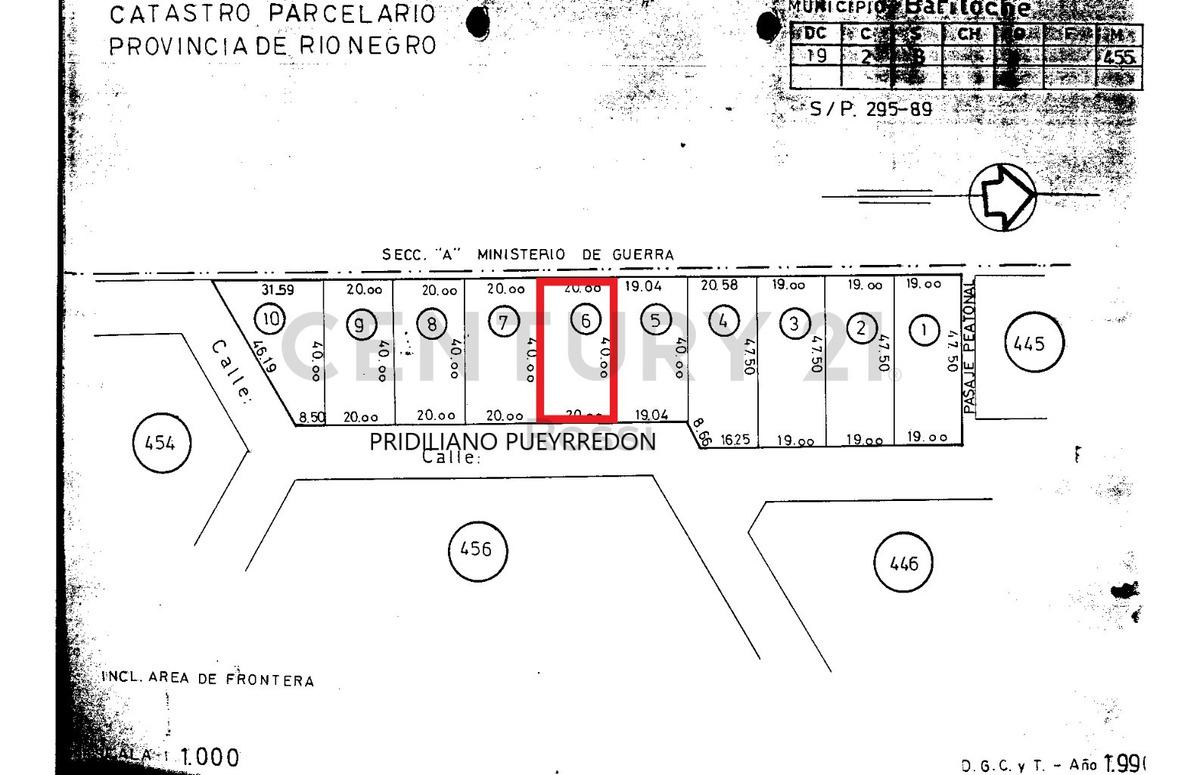 lote en venta- bariloche- id 9256