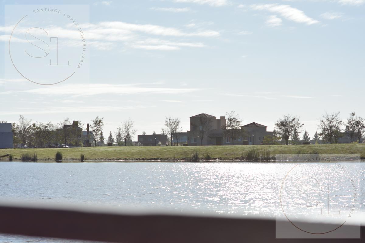 lote en venta barrio san matias. area 5 sobre laguna, de las mejores vistas!