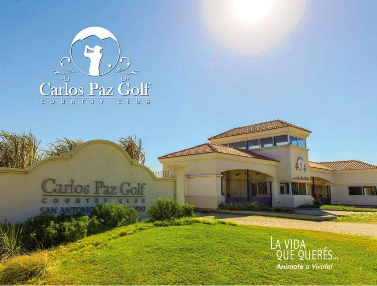 lote en venta - carlos paz country golf