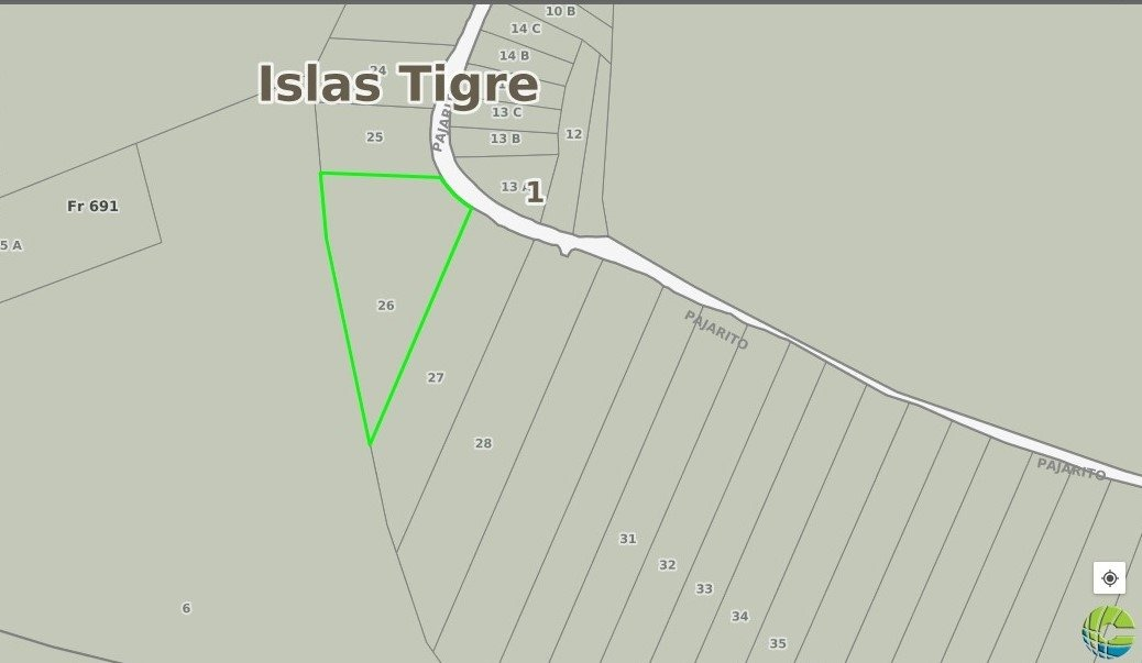 lote en venta delta del tigre arroyo pajarito