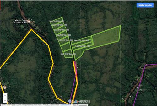 lote en venta delta del tigre arroyo toro 128 m de frente
