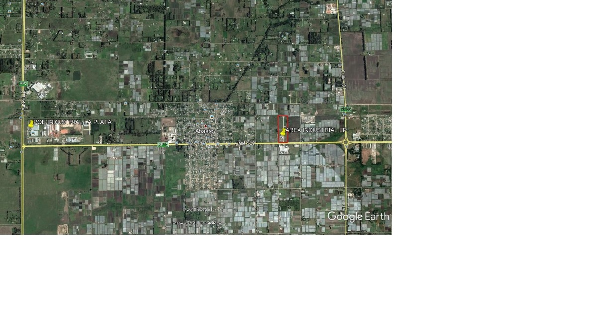 lote en venta en área industrial lp | avda. 520 e/198y200