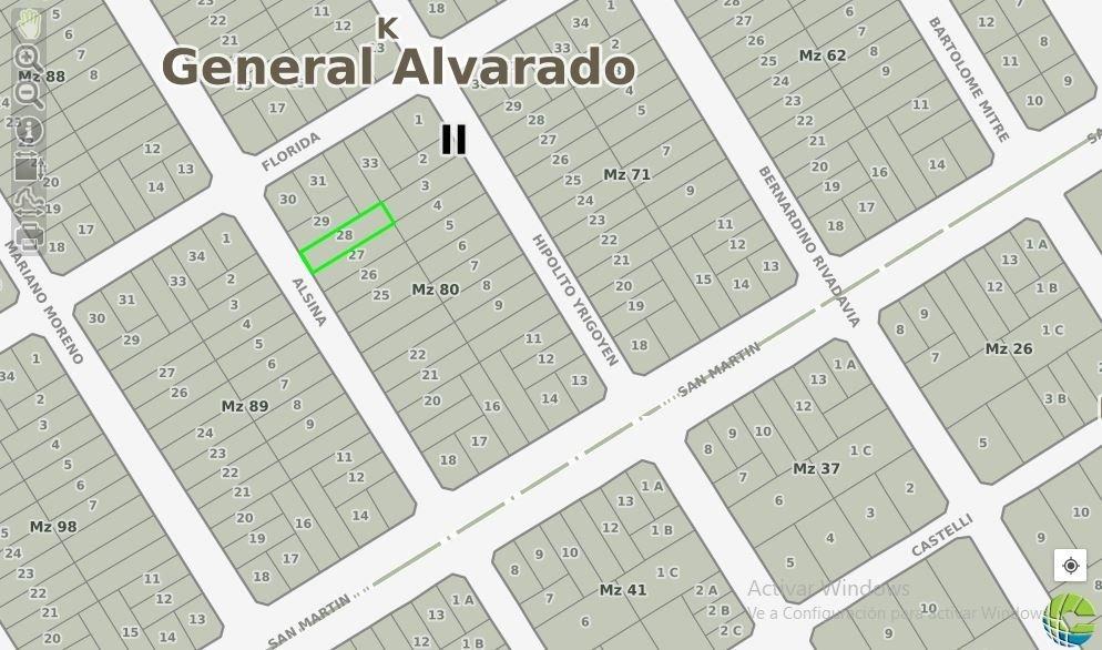 lote en venta en barrio bristol 400m2