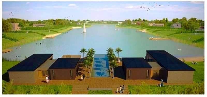 lote en venta en barrio el naudir - al agua - usd 110.000.-