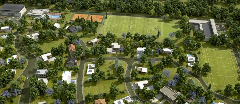 lote en venta en barrio privado hudson park financiado