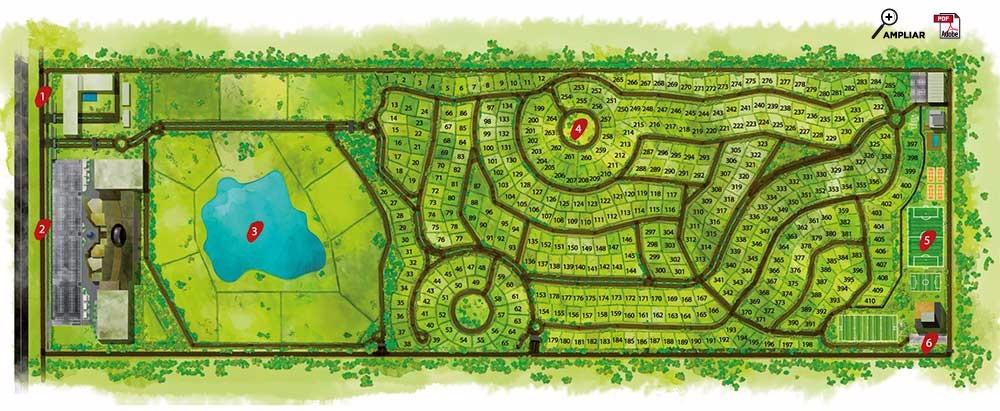lote en venta en barrio privado hudson park oportunidad