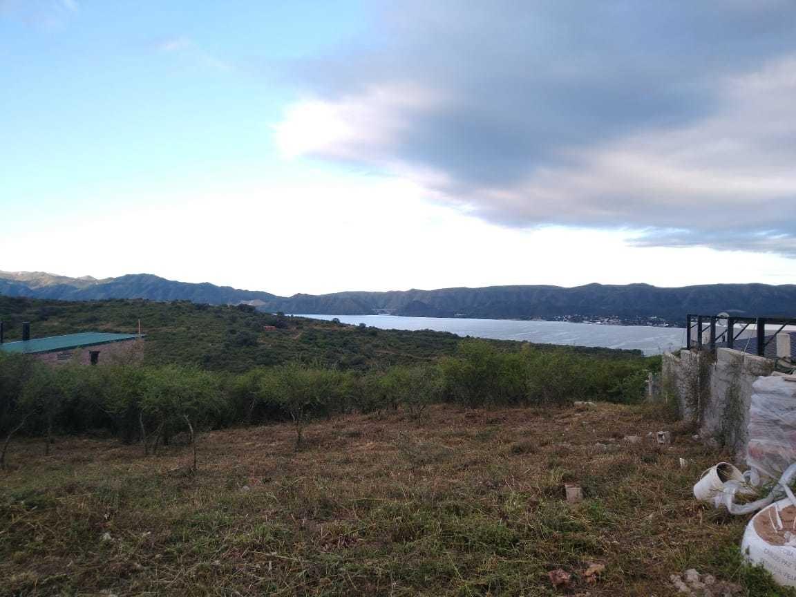 lote en venta en carlos paz con vista al lago